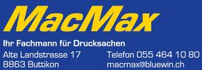 MacMax - Ihr Fachmann für Drucksachen